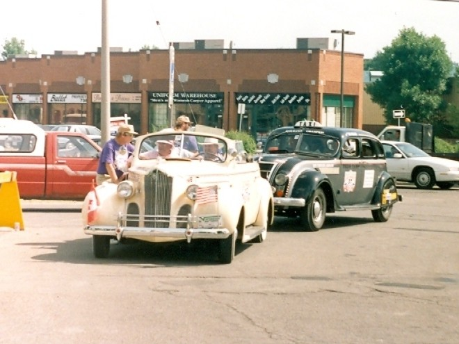 1940 Packard and 1935 Chrysler Airflow  Ottawa Ontario