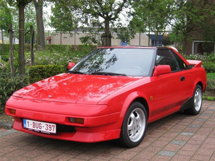 another Toyota MR2 in Maaseik