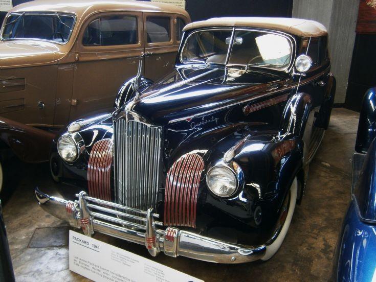 1941 Packard 160 Convertible