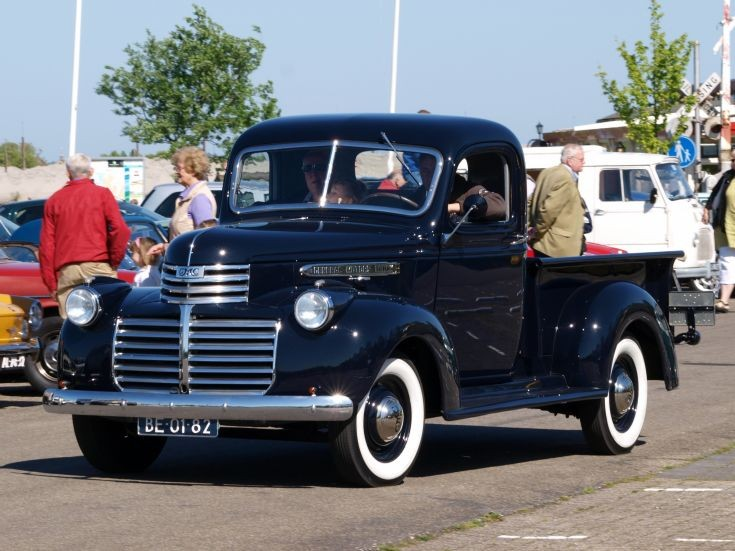 Classic GMC pick-up