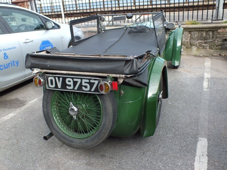 Green 1932 MG