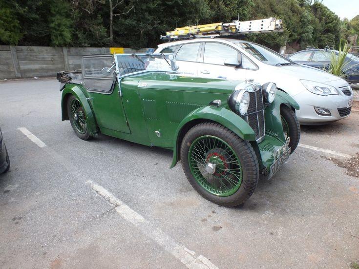 1932 MG in Dawlish