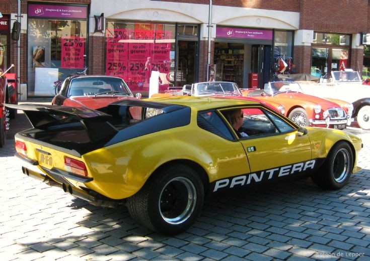 1972 De Tomaso Pantera, image 2.
