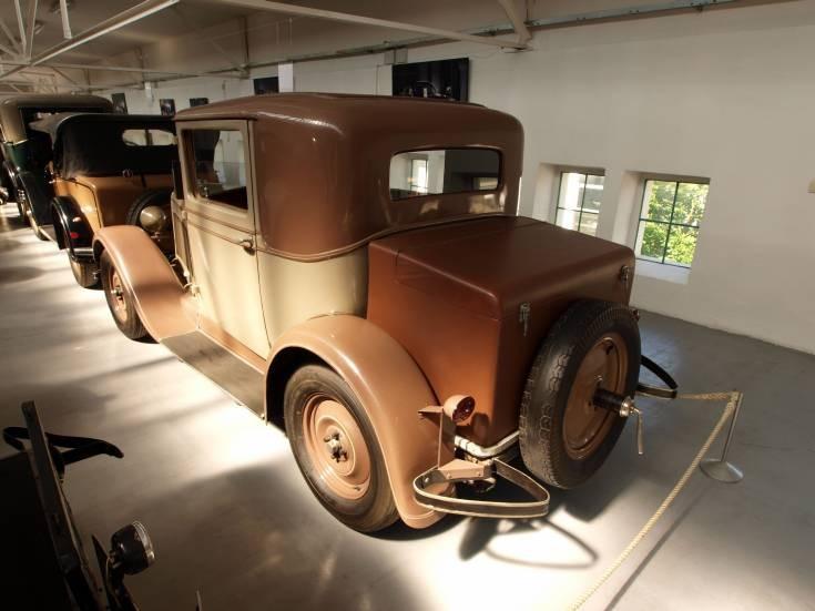 Skoda 422 at Skoda Museum