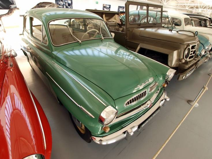 Classic and Vintage Cars - 1958 Skoda 440 Spartak