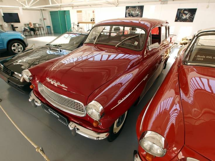 Skoda Octavia at Skoda Auto Muzeum