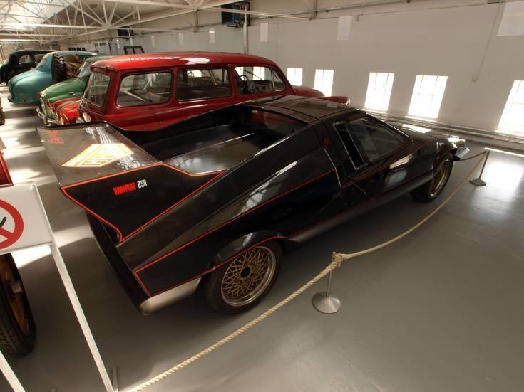 classic Skoda sports car