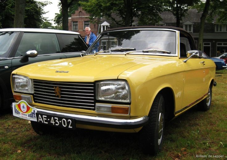 1972 Peugeot 304 Cabriolet S