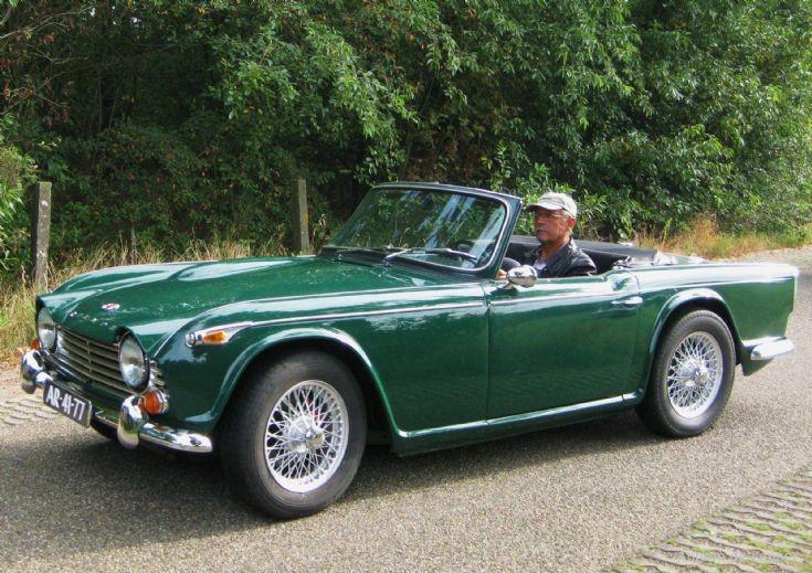 1968 Triumph TR 4A