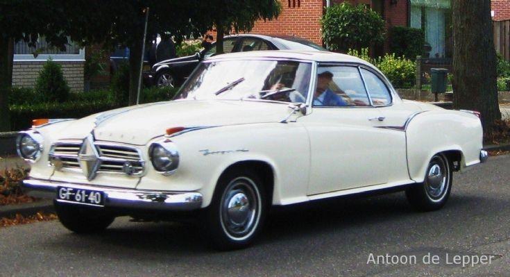 1958 Borgward Isabella.