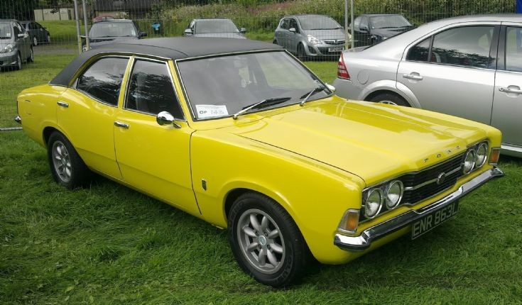 1972 Ford Cortina 2000 GT
