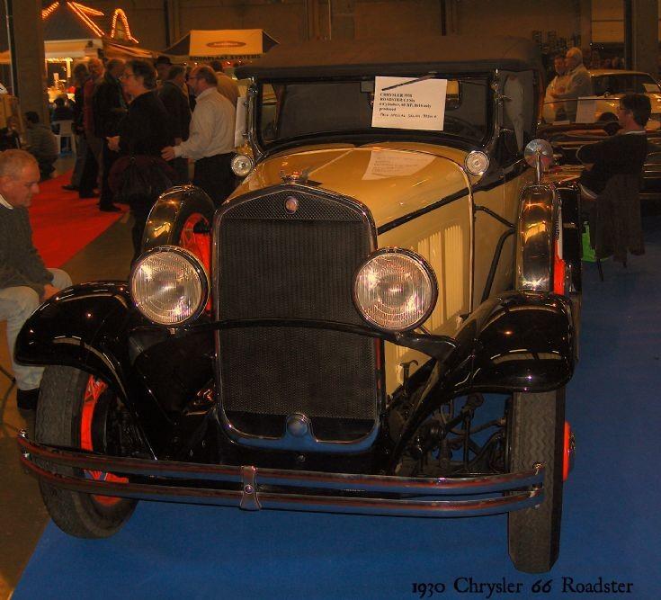 1930 Chrysler 66 Roadster (photo 2)