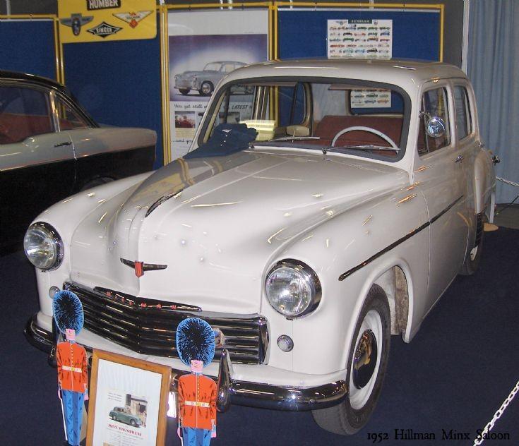 1952 Hillman Minx Saloon (1)