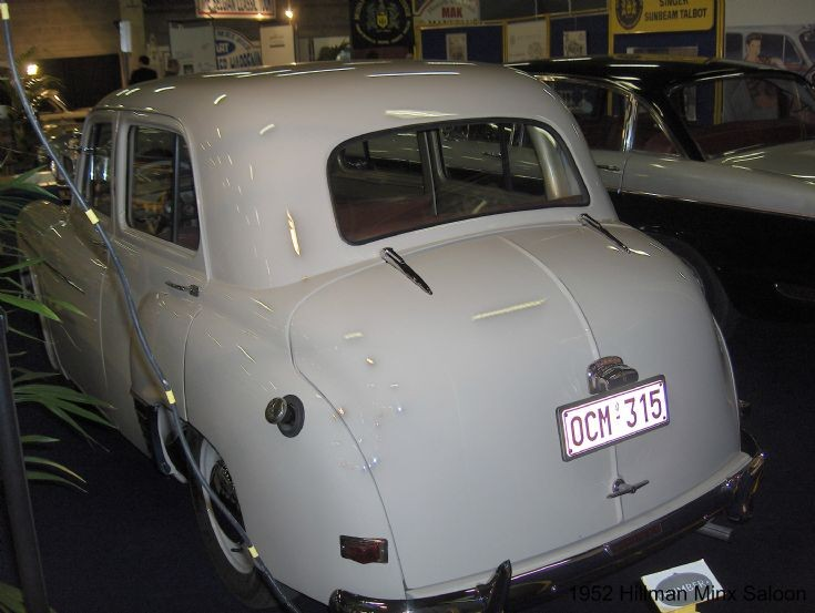 1952 Hillman Minx Saloon (photo 2)