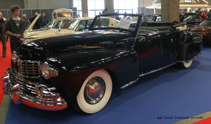 1948 Lincoln Continental convertible (1)