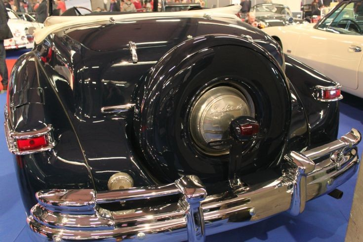 1948 Lincoln Continental convertible (photo 3)