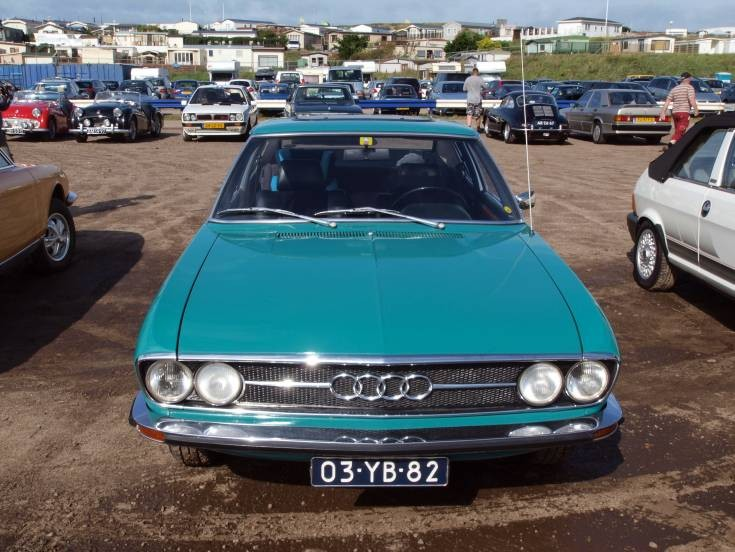 Photo of old Audi 100 Coupe S