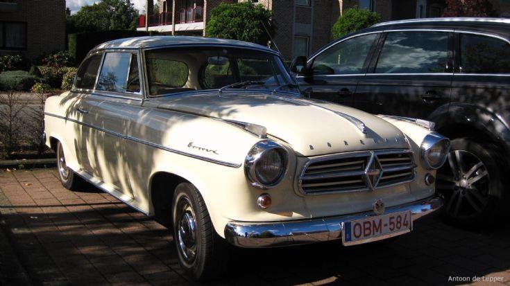 Classic Borgward in Maaseik.