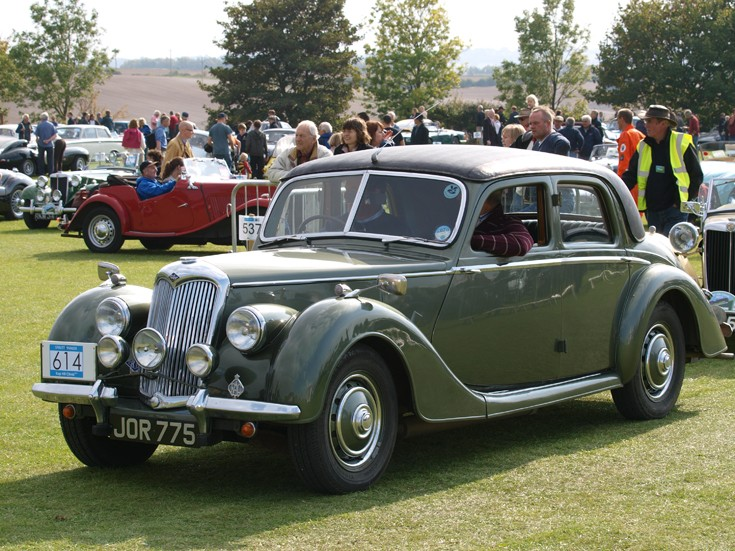 1951 Riley RMA Sedan