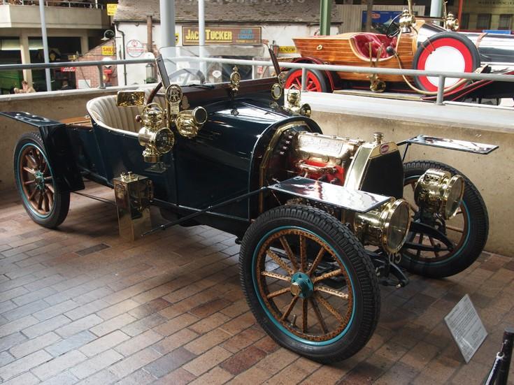 1910 Bugatti at Beaulieu