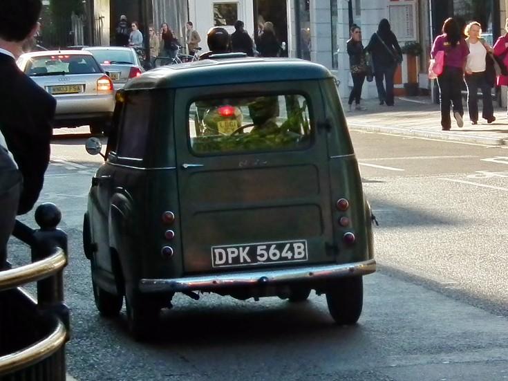 1964 Austin A35 Van rear view