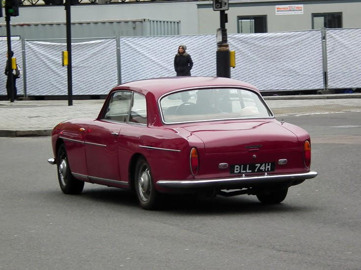 Rear view of Bristol 411