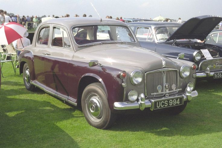 Rover P4 in 1999. (UCS994)