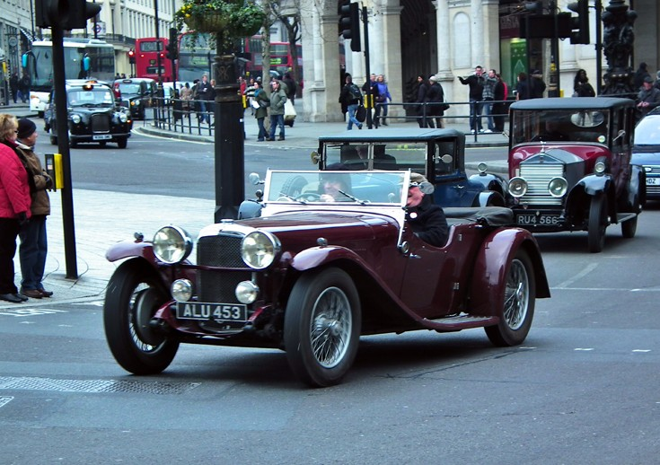 Classics on the road in London