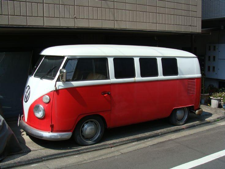 VW Bus - Tokyo Japan