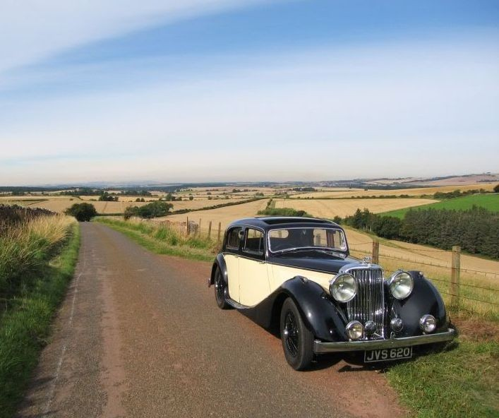 1939 SS Jaguar 2½ litre Sports Saloon