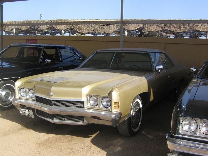 a classic Chevrolet