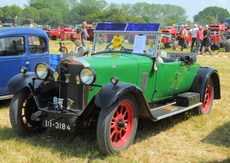 1929 Talbot AC 14/45 at Woodcote Steam Rally
