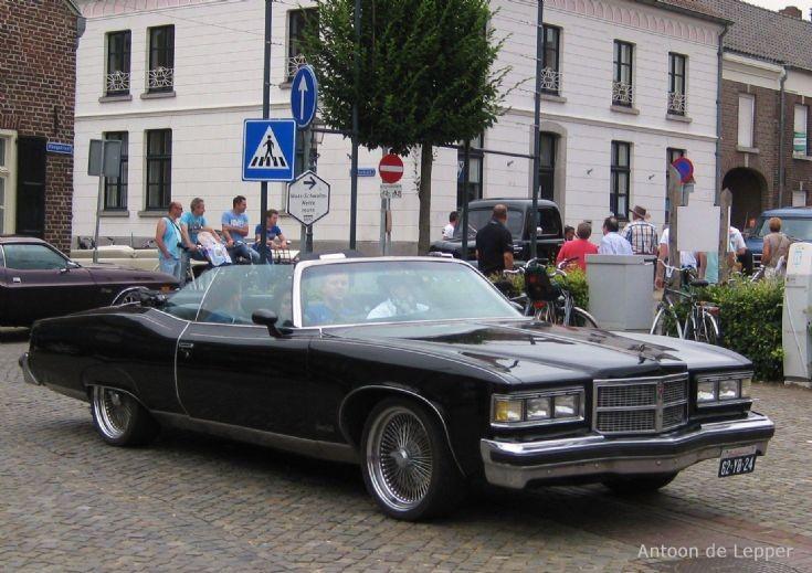 1975 Pontiac Cabriolet.