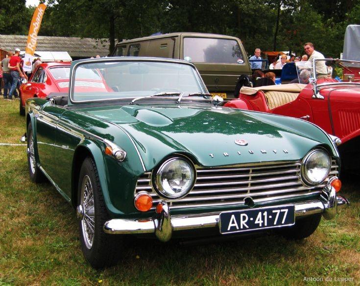 1968 Triumph TR 4A.