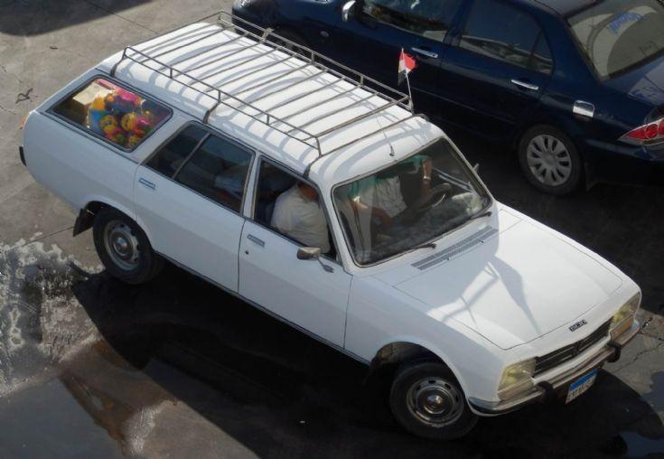 Peugeot 504 - Egypt