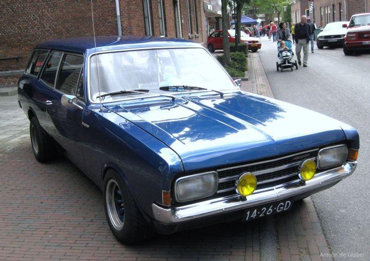 1968 Opel Record.