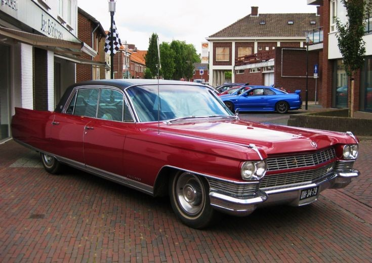 1964 Red Cadillac.