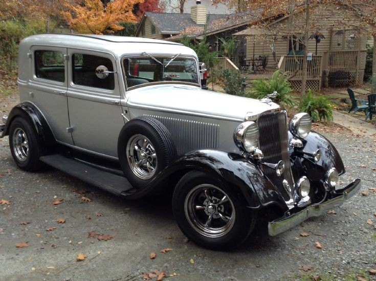 1933 Dodge DP6 Salon  Braugham