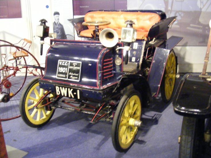 1901 Payne & Bates Godiva Dos-a-Dos - BWK 1