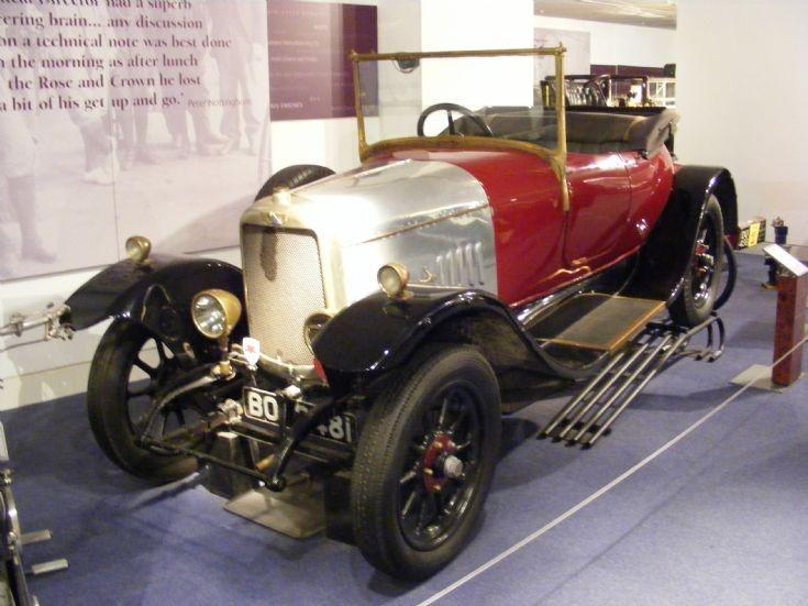 1920 Alvis 10/30 Open Tourer