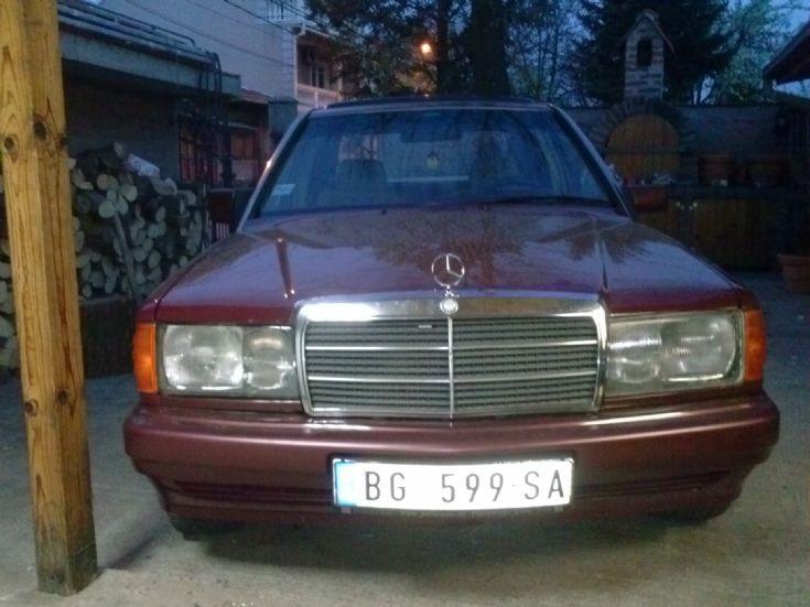 Mercedes 190D 2.5 1991