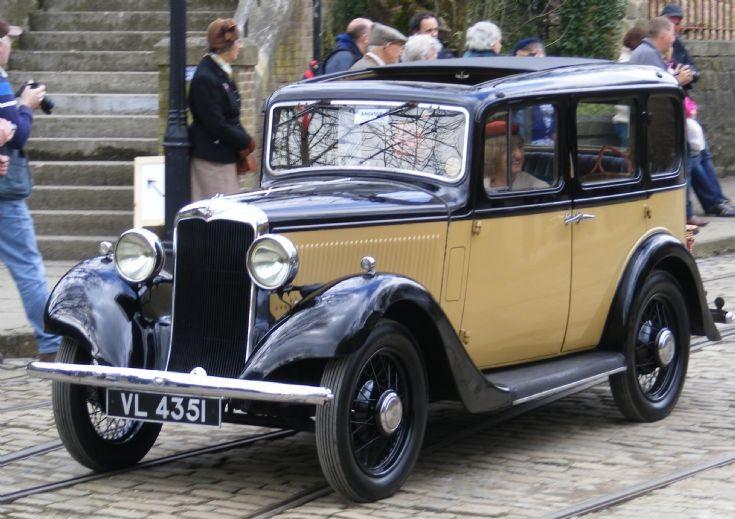 1935 Hillman 1200 Saloon - VL 4351