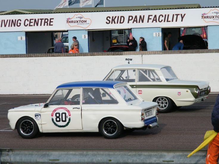 Hillman Imp and Lotus Cortina