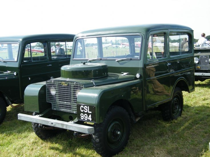 Tickford Station Wagon bodied Land Rover