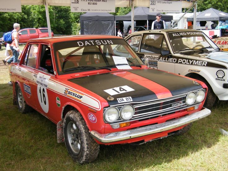 Datsun Rally Car