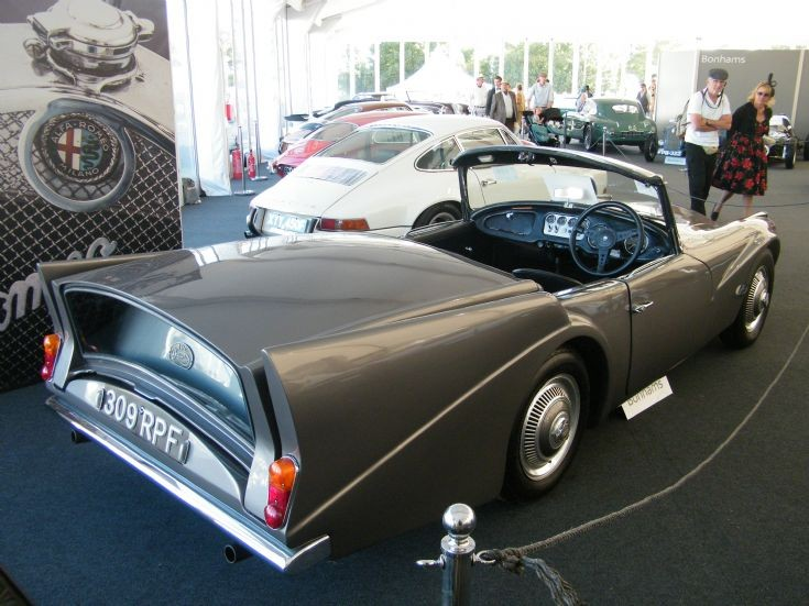 AHC Conversion Daimler SP250 Dart