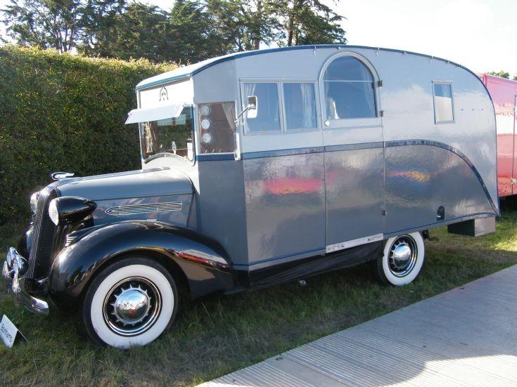 Pontiac Camper Van