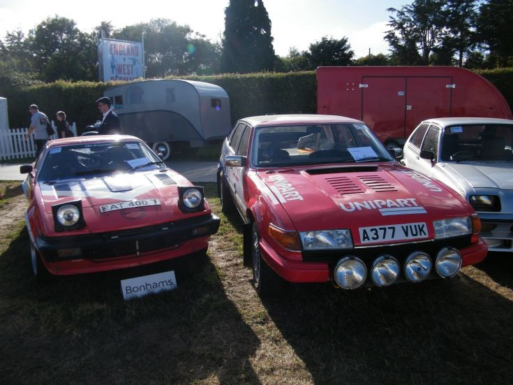 Works Triumph and Rover Rally Cars