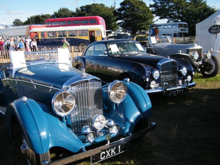 Bentleys and Rolls Royce