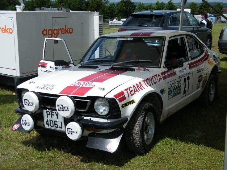 Toyota Corolla Rally Car